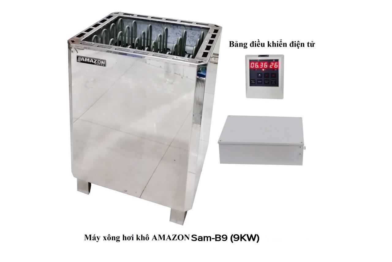 Máy xông hơi ướt - Amazon  - 9KW