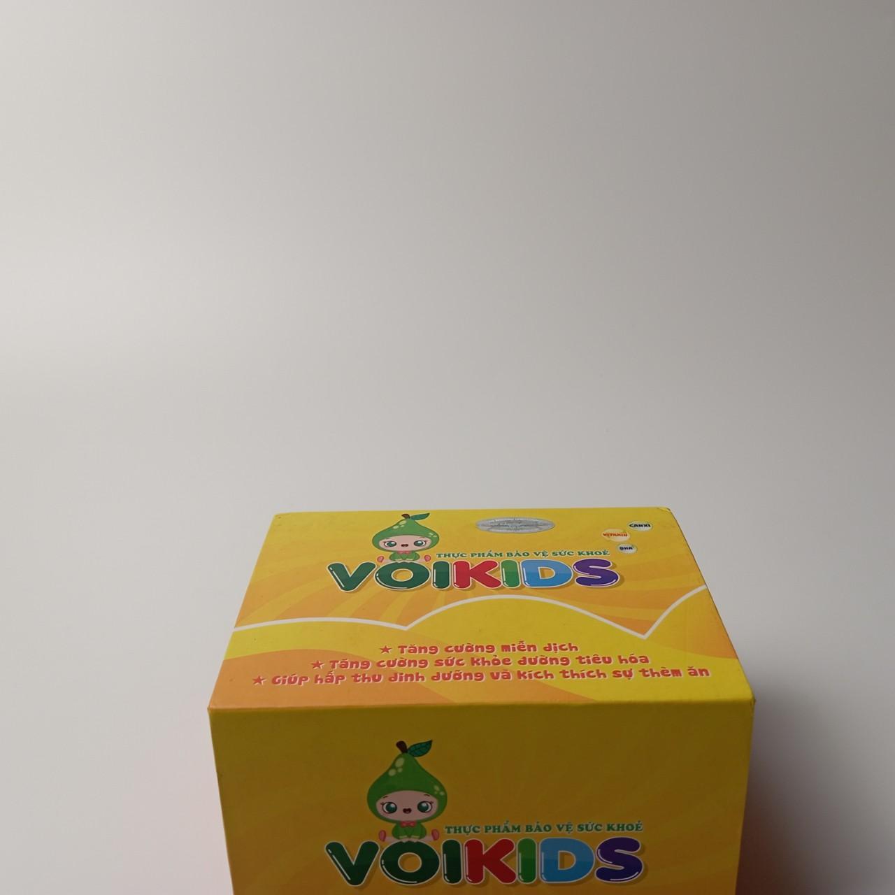 Cốm ăn ngon Voikids Dành cho trẻ biếng ăn Hộp 20 gói